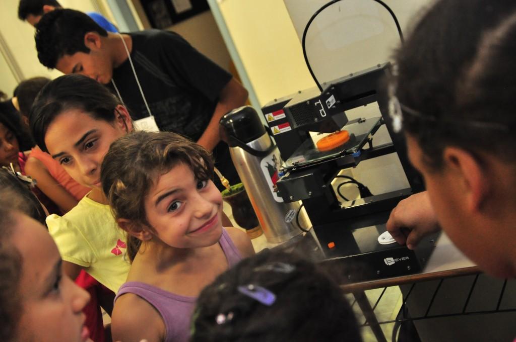 Visitas dos estudantes das Escolas Municipais