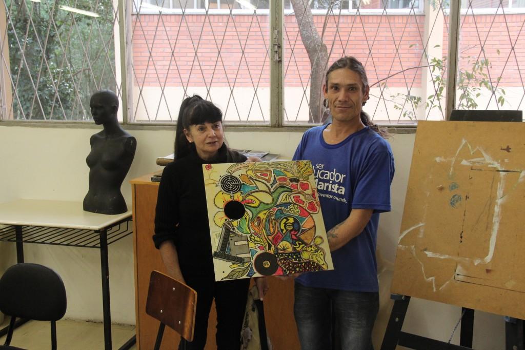Prof Zanira e Luciano